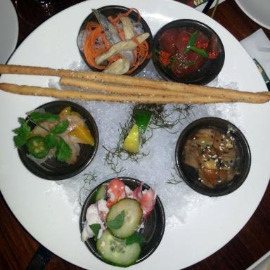 Dahlia's Lounge fish appetizers