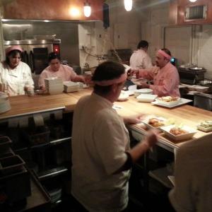 Salty Sow kitchen