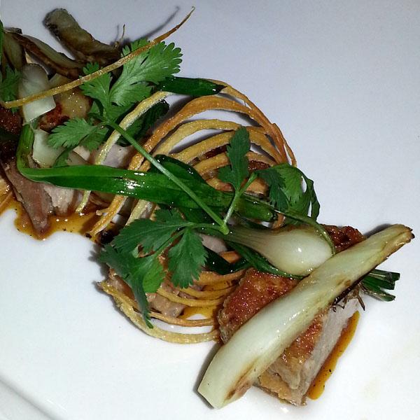 Bacon tataki from Uchio