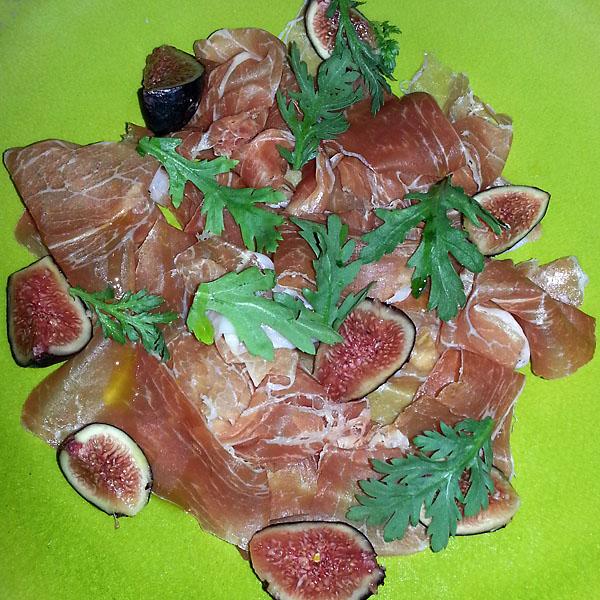 Prosciutto and figs from Cotogna