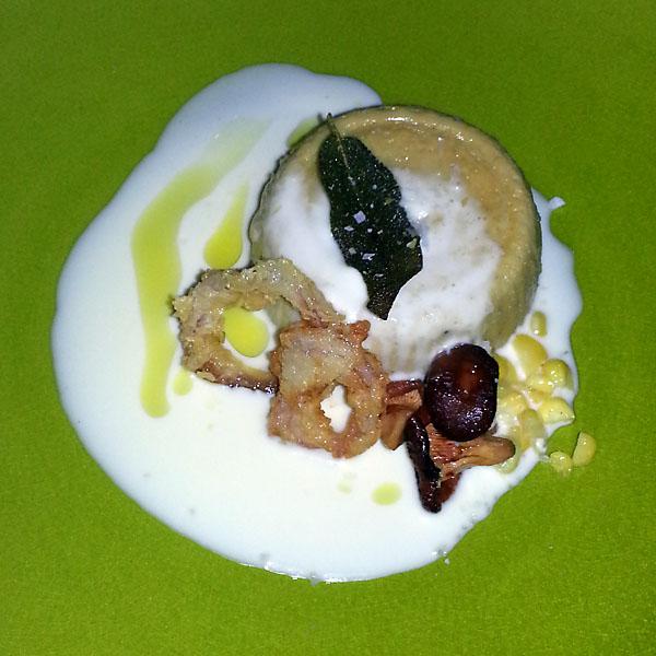 Cotogna - savory custard