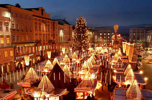 Linzer Christkindlmarkt, photo courtesy of the Austrian Tourism Agency