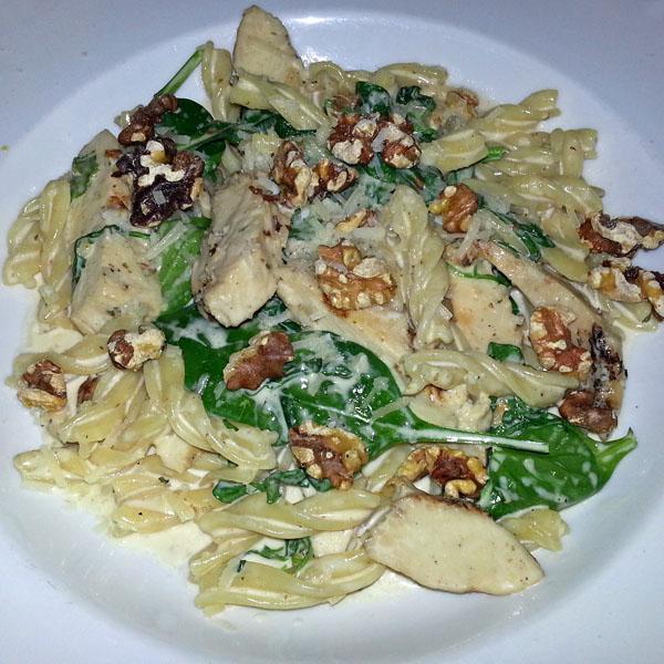 Rotini alla crema from Gusto