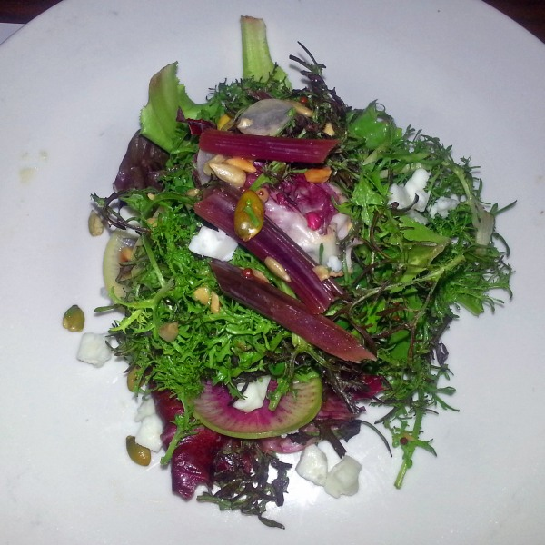 Autumn salad at Bufalina