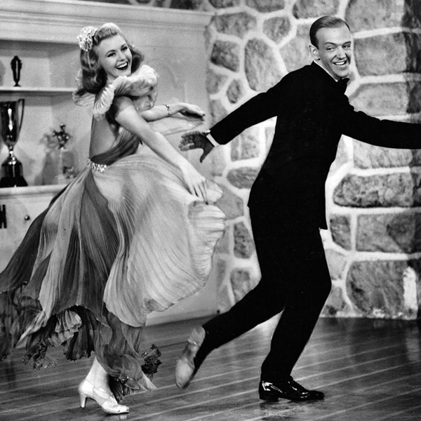 Ginger Rogers and Fred Astaire. Photo courtesy of A Certain Cinema by Sergio Leeman