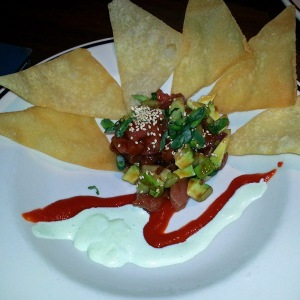 Blackfinn - poke with chips