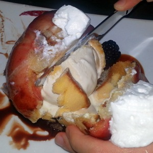 Cracking the fried ice cream