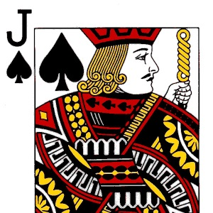 Jack of Spades (cropped); image courtesy of The Card Lover