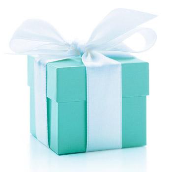 Tiffany blue box, photo courtesy of Tiffany & Co.