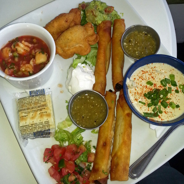 Appetizer plate from Zoccolo