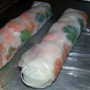 Spring rolls without the frying