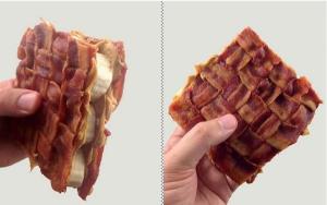 Bacon peanut butter & banana sandwich. Photo courtesy of John Rieber on his blog post: Ten Most Creative Sandwiches!