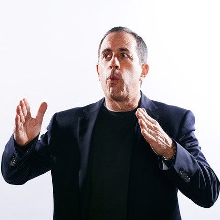 Jerry Seinfeld. Photo courtesy of Finlay MacKay for The New York Times