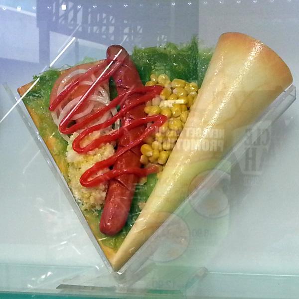KL Central Market - crepe with hot dog